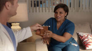 Mindy's great at one thing: her job