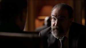 Saul's back on Carrie's side.
