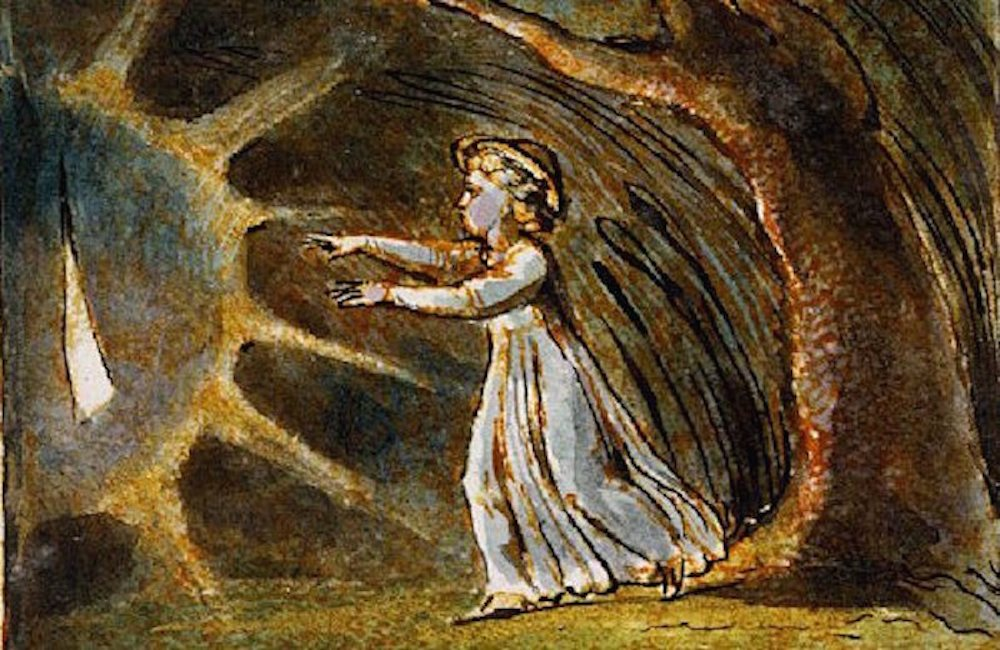 William Blake S Visual Poetry The Little Boy Lost Adversion