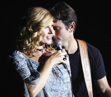 "NASHVILLE - ""That's Me Without You"" - In the uniquely structured season premiere, a torn Rayna must choose not just between two men, but two directions that her life could take. Juliette, struggling to repair her relationship with Avery, auditions for the leading role of a film biopic. Meanwhile, Scarlett, determined to start fresh, embarks on a road trip home and bonds with an unexpected stowaway, and Will and Layla manage the fallout from his on-camera confession, on the Season Premiere of ""Nashville,"" WEDNESDAY, SEPTEMBER 24 (10:00-11:00 p.m., ET) on the ABC Television Network. (ABC/Mark Levine) CONNIE BRITTON, CHARLES ESTEN"